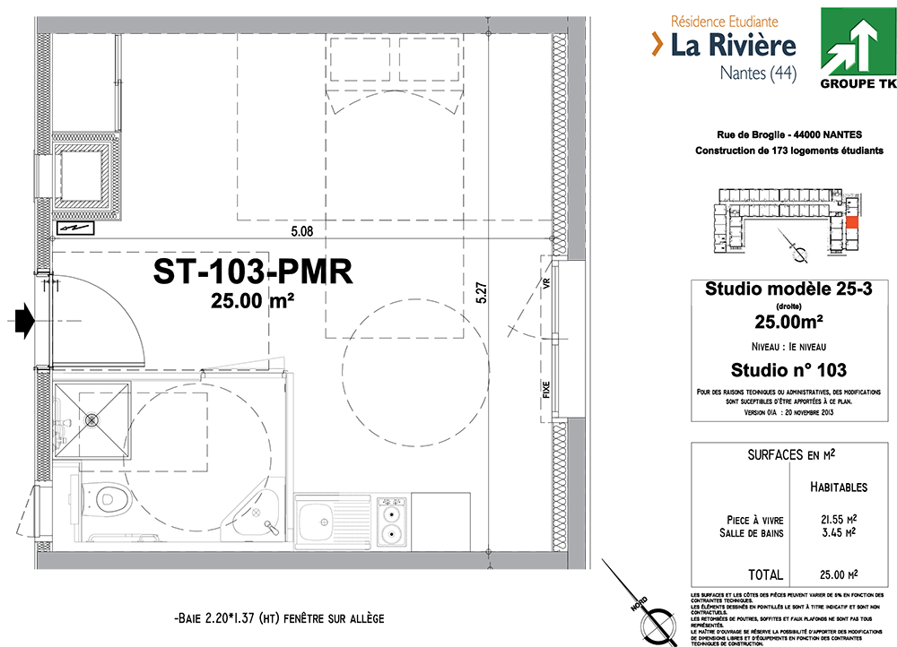 plan appartement pmr
